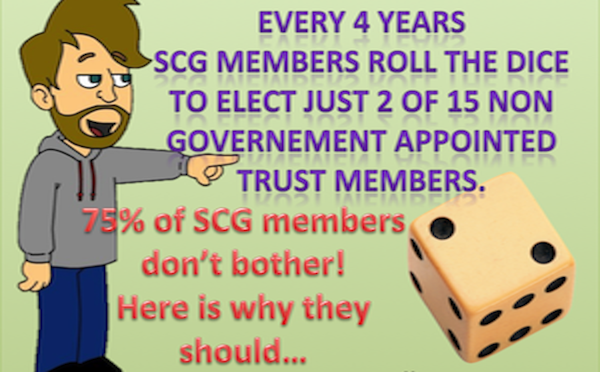 Who listens to SCG members?