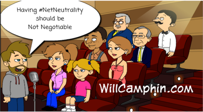 Net Neutrality should be 'Not Negotiable'