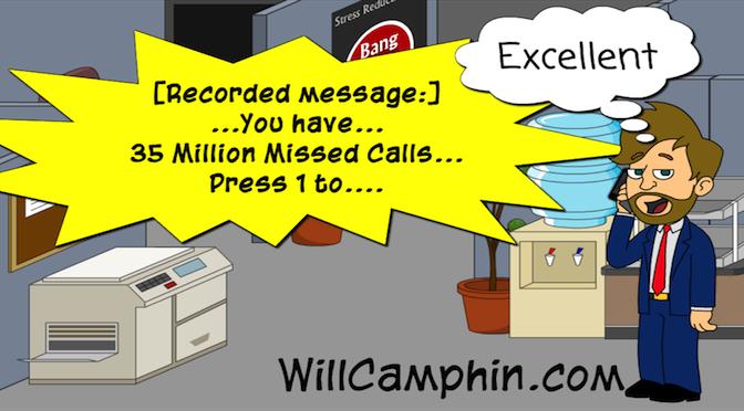 35 Million Missed Calls
